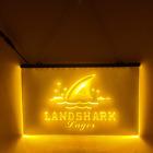 Landshark LED Sign Man Cave Garage Bar
