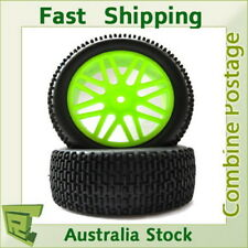 66043  front Wheel Complete 2 pcs  green HSP  buggy  1/10 06010