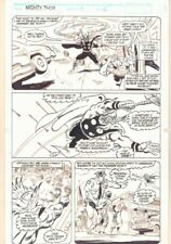 Thor Annual #17 p.6 - Thor Flying Around - 1992 art by Geof Isherwood