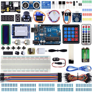 Miuzei Uno R3 Starter Kit For Arduino Projects With Uno R3 Board, Lcd1602 Module