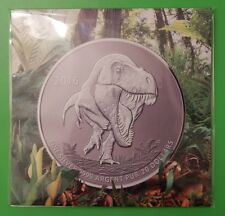 2016 Canada $20 Fine Silver Tyrannosaurus Rex Coin Graded as Specimen
