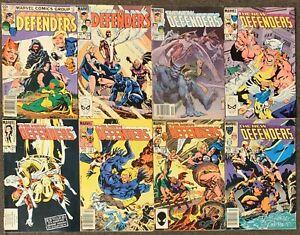 The Defenders #123,124,125,126,127,129,132,133 Marvel Comics 1983 Lot