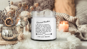 Brother Candle, Funny Candle, Candle, Soy wax Candle, Hand Poured Candle , Vanil