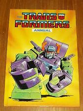 TRANSFORMERS 1988 MARVEL BRITISH ANNUAL
