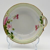 Antique Nippon Hand Painted Single Handled Bowl Floral Circa 1890 - 1921