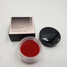 Discontinued Rare Mary Kay Cheek Glaze .28 oz Pomegranate