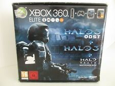 PACK Console MICROSOFT XBOX 360 ELITE 120 Go HALO 3 + HALO 3 ODST