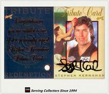 1998 Select AFL Signature Series Legend Signature Stephen Kernahan--Ultra Rare