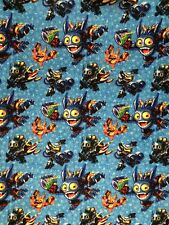 """Skylanders All Over Character Cotton Fabric by Camelot Fabrics - BTY x 44"""""""