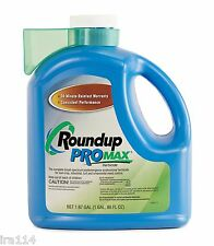 (1) RoundUp ProMax 1.67 Gallon Jug  Weed and Grass Killer 1.67 gallons total