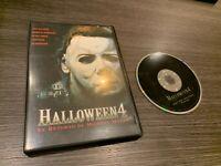 Halloween 4 DVD Il Ritorno De Michael Myers