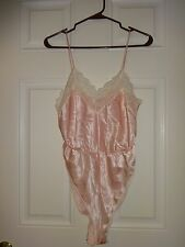 Body Chic Teddy Pink Lace Trimmed Size Medium Usa