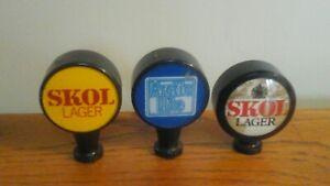 Taps beer handles x3 vintage