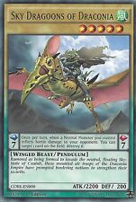 YU-GI-OH CARD: RARE - SKY DRAGOONS OF DRACONIA - CORE-EN000 - 1st EDITION