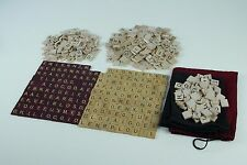 Lot of 550+ Scrabble Tiles Standard Deluxe Edition Arts Scrapbooking Crafts