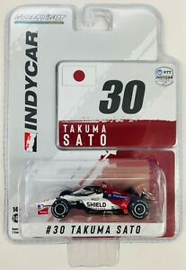 1:64 2021 Greenlight Takuma Sato #30 Rahal Letterman Lanigan  IndyCar Diecast