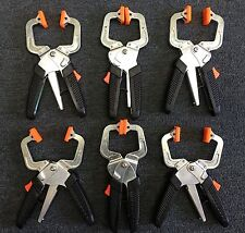 New 6 pcs Laminated Ratcheting Clamp with quick release