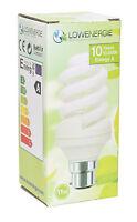 Energy Saving CFL LED Light Bulbs bayonet B22 B15 E14 E27 cap stick spiral lamp