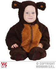 Fuzzy Teddy Bear Baby Fancy Dress Costume 0-6 Months Childrens Outfit