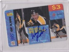 SIGNATURES ROOKIE HOCKEY WADE REDDEN AUTHENTIC AUTOGRAPH CARD 955/3,000