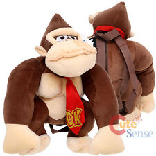 Nintendo Super Mario Donkey Kong Plush Doll Backpack Costume Bag