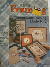 Plaid's Framing Collection Needlework Framing Made Easy Instruction Book 8184