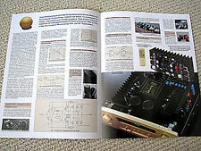 Accuphase E-210 integrated amplifier brochure, GERMAN language edition