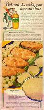 1947 Vintage ad for Mazola Salad Oil`Art, Fish`Recipe`Tartar /Sauce (030414)