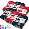 6 DECKS FOURNIER 505 PLASTIC COATED POKER SPIELKARTEN 3 BLAU 3 ROT NEU