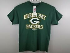 NEW NFL Apparel Green Bay Packers Mens T-Shirt Size Large Football Short Sleeve