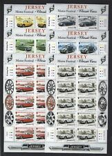 JERSEY 2005 JERSEY CLASSIC CARS MOTOR FESTIVALS SHEETS UNMOUNTED MINT, MNH