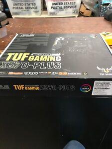 Asus Tuf Plus Gaming AM4 AMD X570 ATX DDR4-SDRAM Motherboard