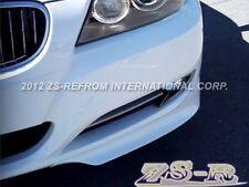 BMW E90 09-11 Front Bumper Add-On Lip 318i 320i 328i 335i Sedan Painted White