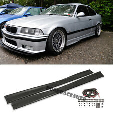 For BMW E36 3-Series 92-98 PP 2/4 D Euro M-Tech M3 Style Side Skirts Body Kit