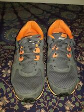 Nike Dual Fusion 454242-001 Gray Orange Athletic Shoes Mens US Sz 8.5