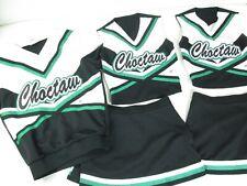 3 Matching Cheerleader Uniform Cheer Outfits Real Hs Mens Top 2 Girl Tops Skirts