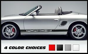 Side Stripes Decals For Porsche Boxster 986