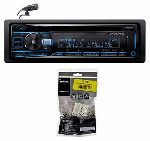 ALPINE Bluetooth CD Player USB/AUX SiriusXM For 2002-07 Mitsubishi Lancer