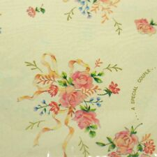 Vintage 80s wrapping paper gift wrap wedding couple gifts