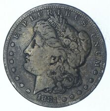 W@W Early 1881-S Morgan Silver Dollar - 90% US Coin - Nice Coin *711