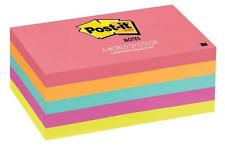 Post-It Notes A World Of Colour Cape Town 76x127mm Pack of 5 - 3M6555PK