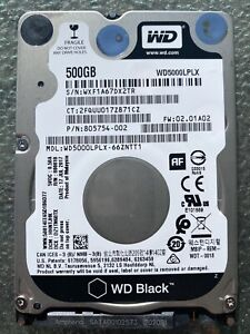XBOX ONE X INTERNAL HARD DISK DRIVE WESTERN DIGITAL 500GB REPLACEMENT WD5000LPLX