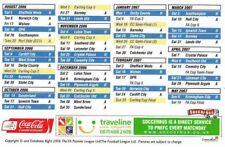 Fixture List - Preston North End 2006/7