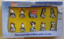 Coffret ALCARA de 10 fèves Happy Feet Warner Bros