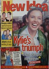 "Kylie Minogue Australian New Idea Poster From 2000: ""Kylie's Triumph"""