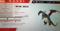 Shiny Gigantamax Charizard 6IV Max EVs Competitive Pokemon Sword Shield Timid