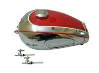 Horex Regina Red Painted Chrome Reproduction Petrol Tank Vintage