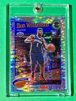 Zion Williamson SILVER PULSAR PRIZM PREMIUM STOCK 2019-20 RC NBA HOOPS - Mint!