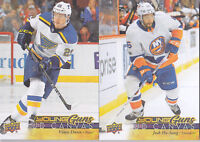 17-18 Upper Deck Josh Ho-Sang UD Canvas Young Guns Rookie NY Islanders 2017