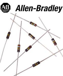 Allen Bradley RCR07G103JS 10K Ohm 1/4W (0.25W) Military Carbon Comp Resistor